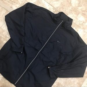 Nike Jackets & Coats - Nike Windbreaker Jacket Navy Blue Full Zip